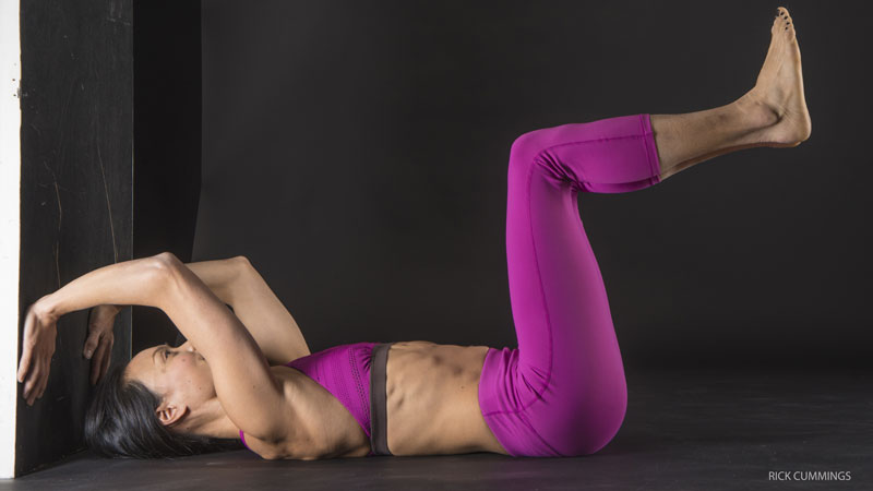 Strengthen Your Core: Happy Baby Pose, variation