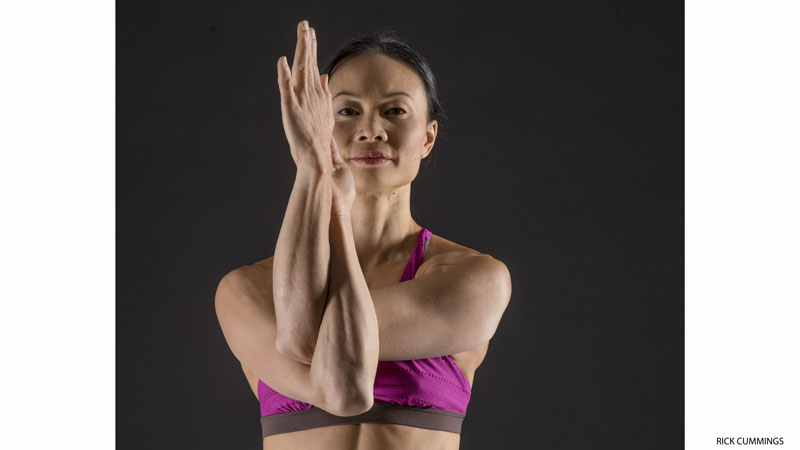 Activate Your Rotator Cuffs: Eagle Pose Arms