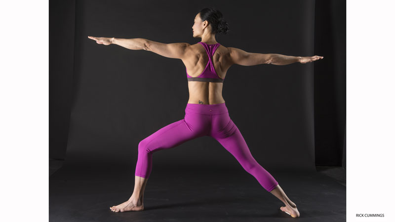 Activate Your Rotator Cuffs: Warrior II Pose