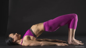Strengthen Your Core: Bridge Pose, variation