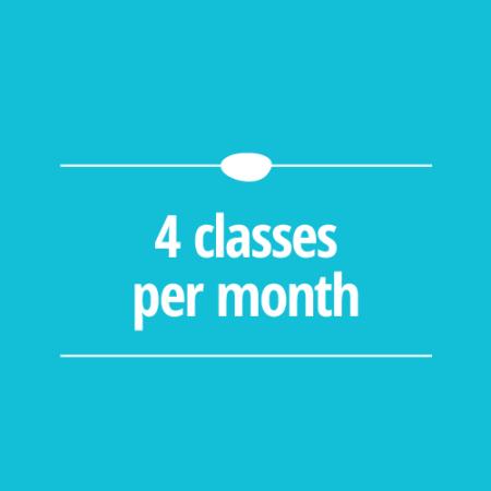 4 Classes per Month