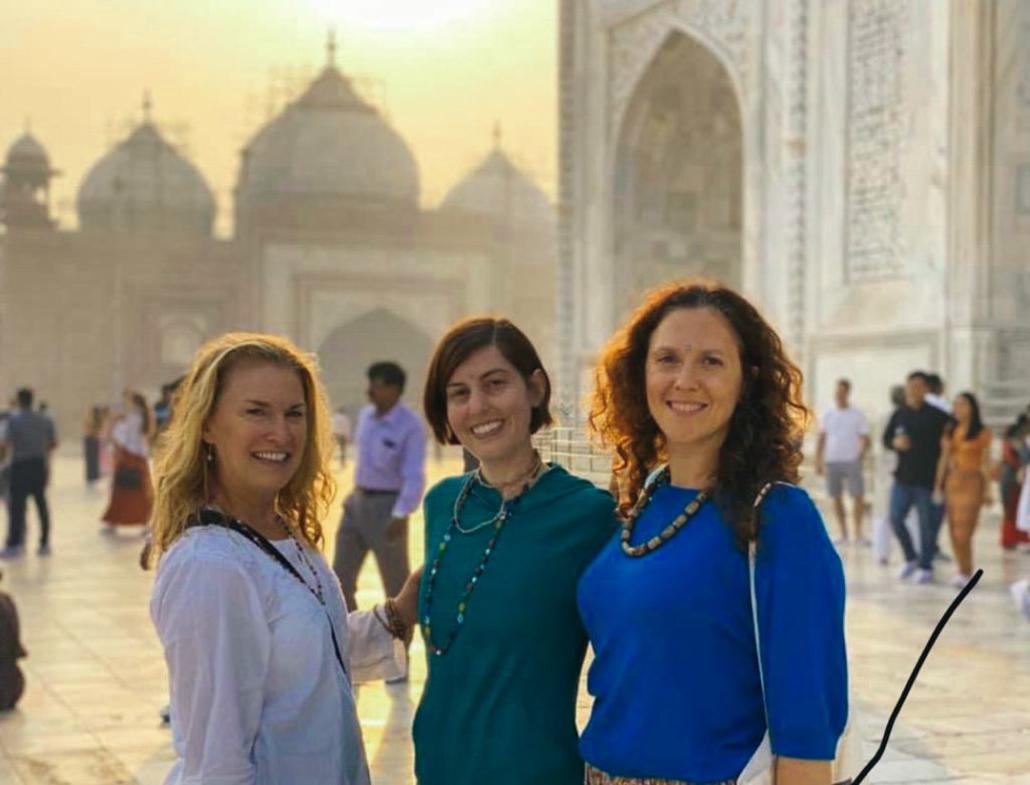Retreat Group at Taj Mahal