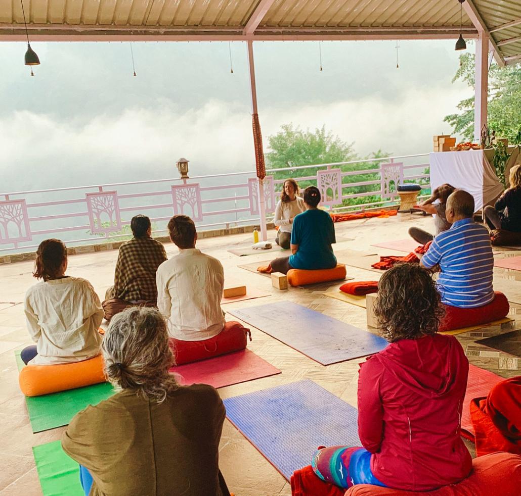 Rishikesh Yoga Class